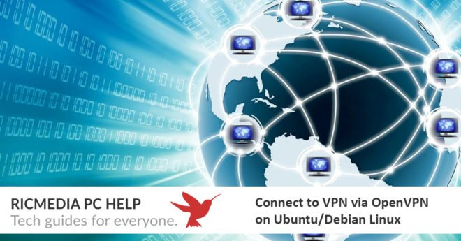 Connect VPN using OpenVPN on Ubuntu or Debian