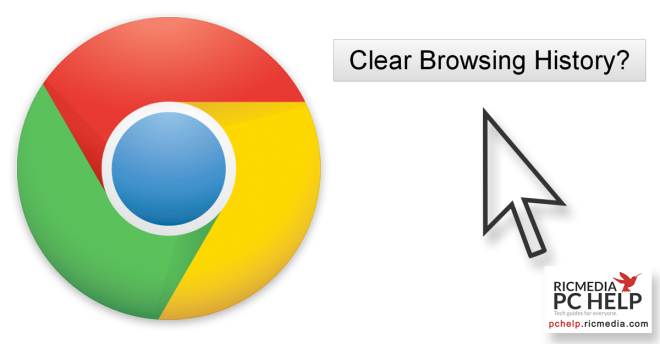 Delete browsing history in Google Chrome guide